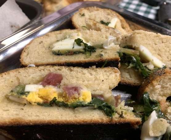 Pane ripieno per un pranzo di primavera