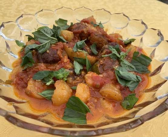 Frutti ripieni: secondo piatto siciliano di verdure e carne