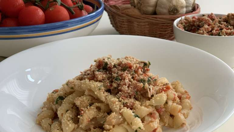 Busiaticol Pesto alla trapanese